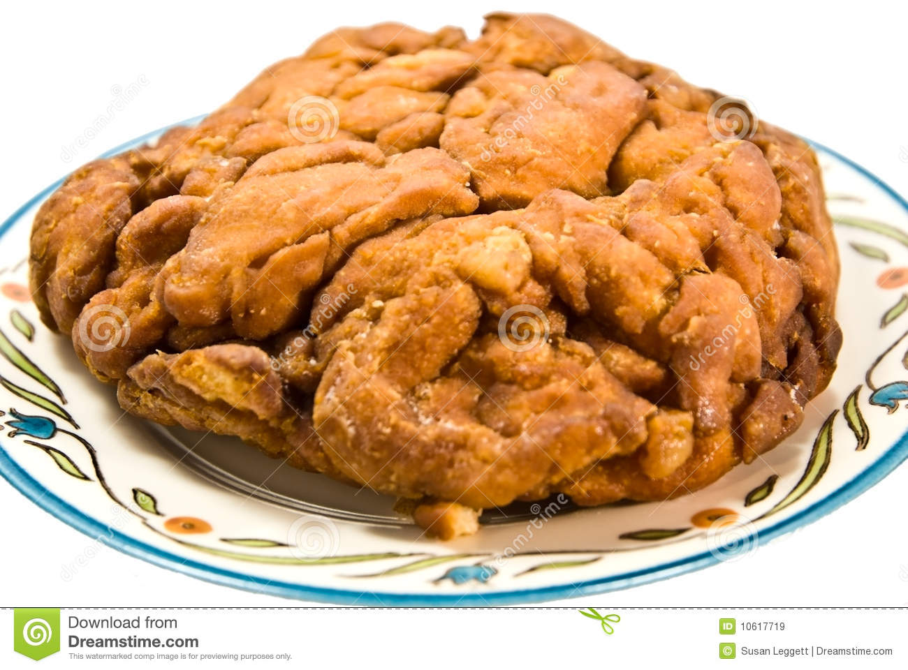 Fried Apple Fritter Royalty Free Stock Images - Image: 10617719
