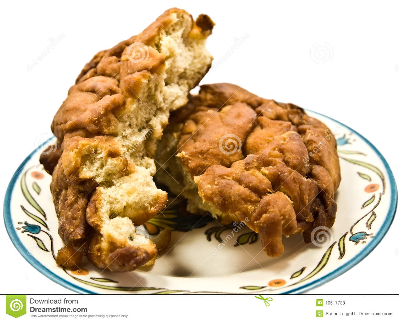 Fried Apple Fritter Royalty Free Stock Photos - Image: 10617738