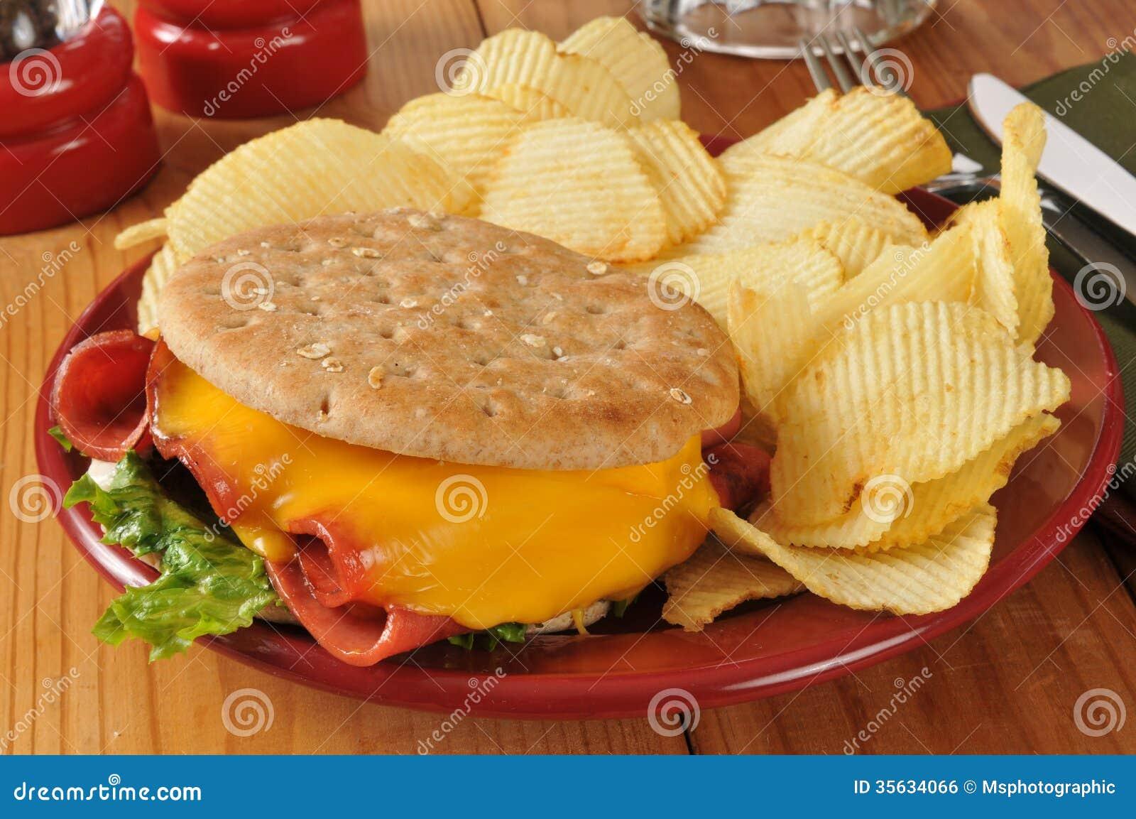 Fried baloney sandwich...