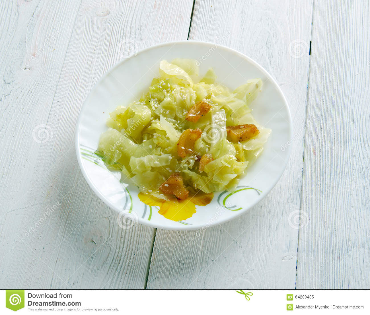 Fried Cabbage meridional