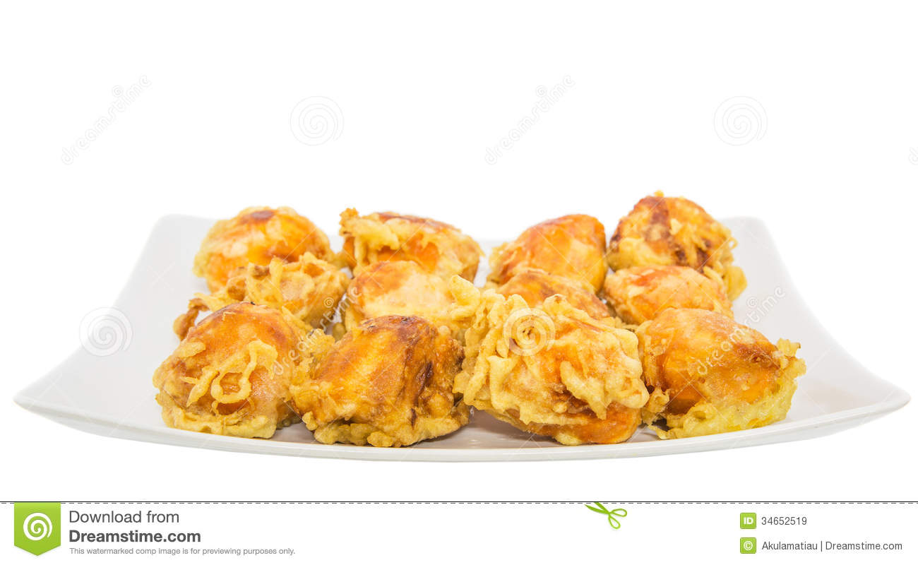 Fried Chempedak Fruit Arils I