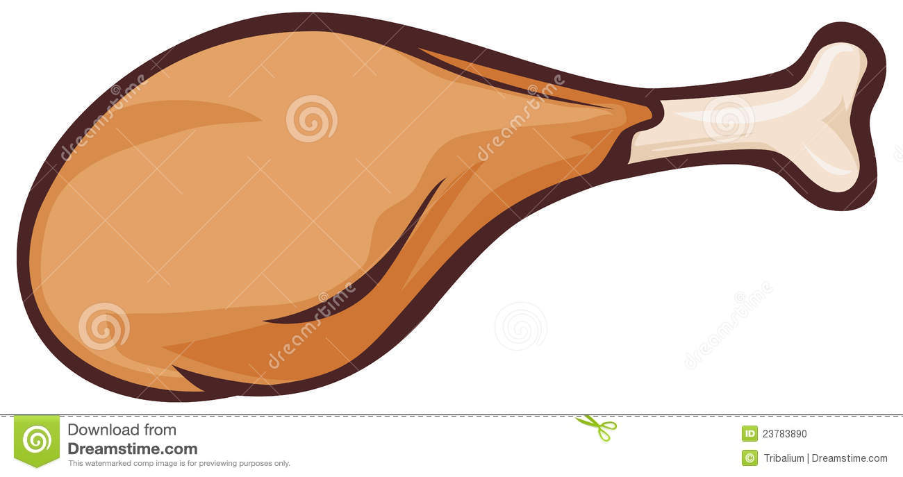 fried chicken stock vector illustration of clip cartoon 23783890 rh dreamstime com fried chicken clipart free fried chicken clipart png