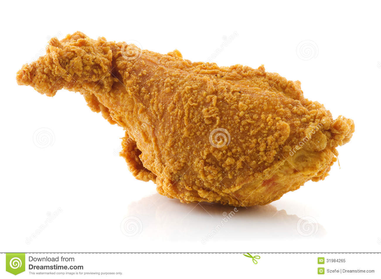 Fried Chicken Drumstick Royalty Free Stock Photo - Image: 31984265