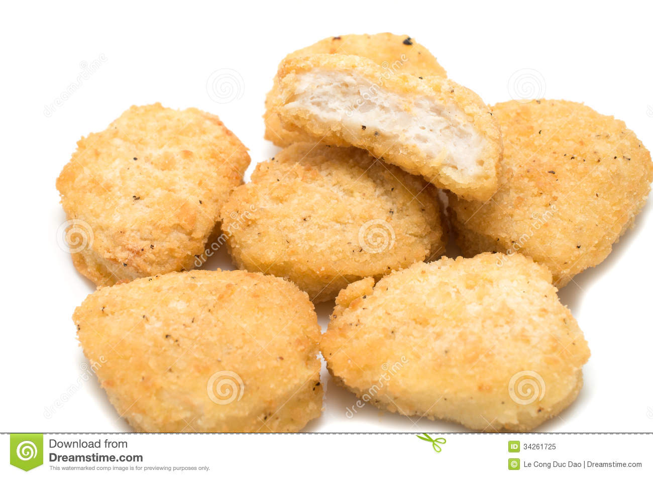 clipart of chicken nuggets - photo #20