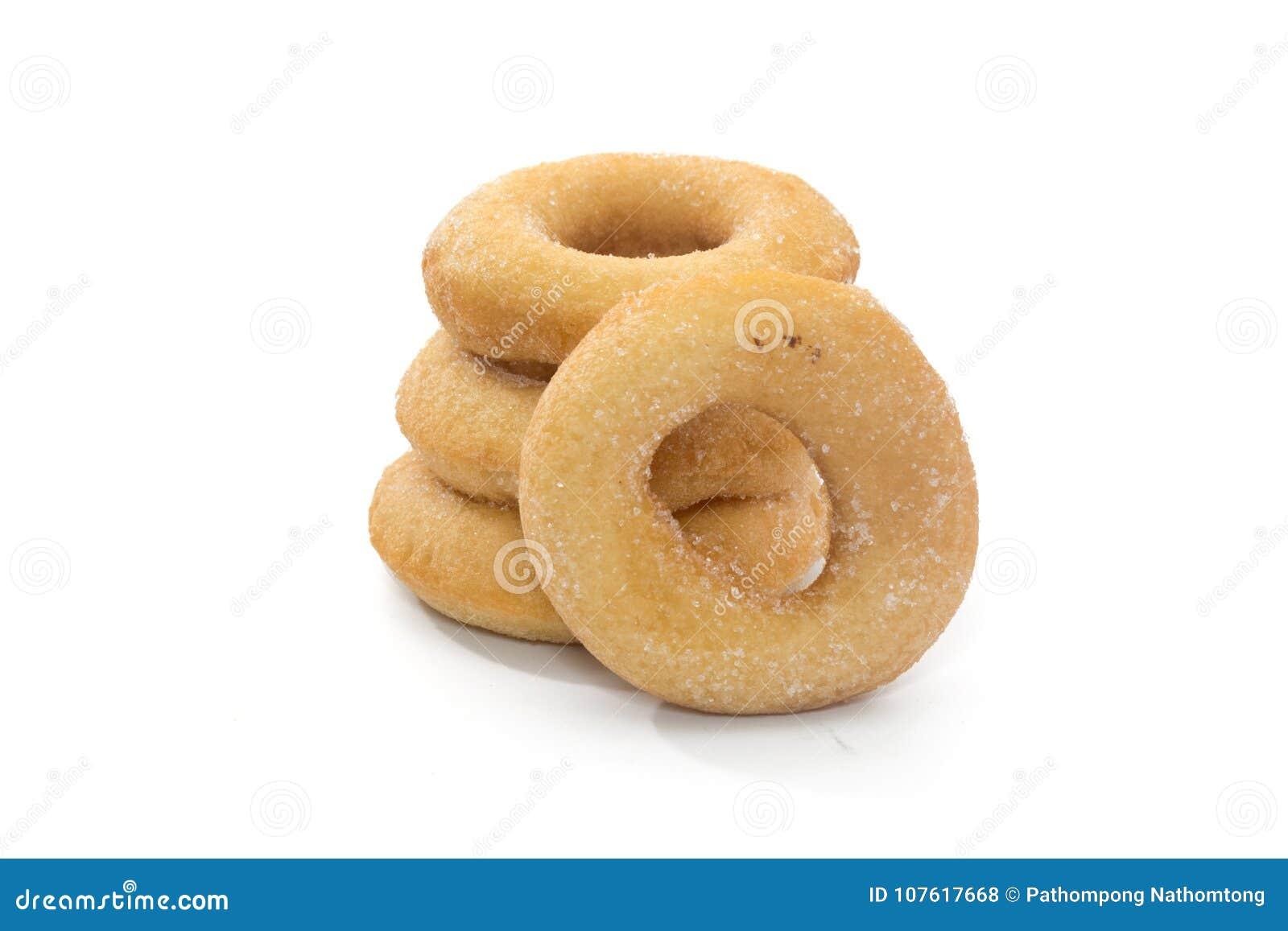 Fried Donuts com cobertura do açúcar
