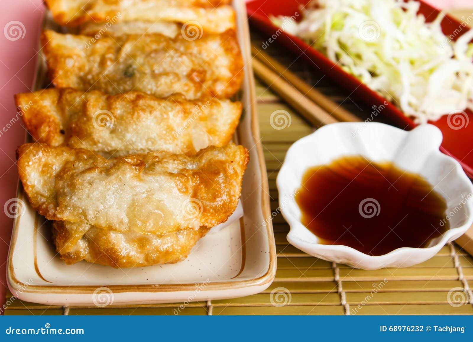 Fried Dumpling - Gyoza.