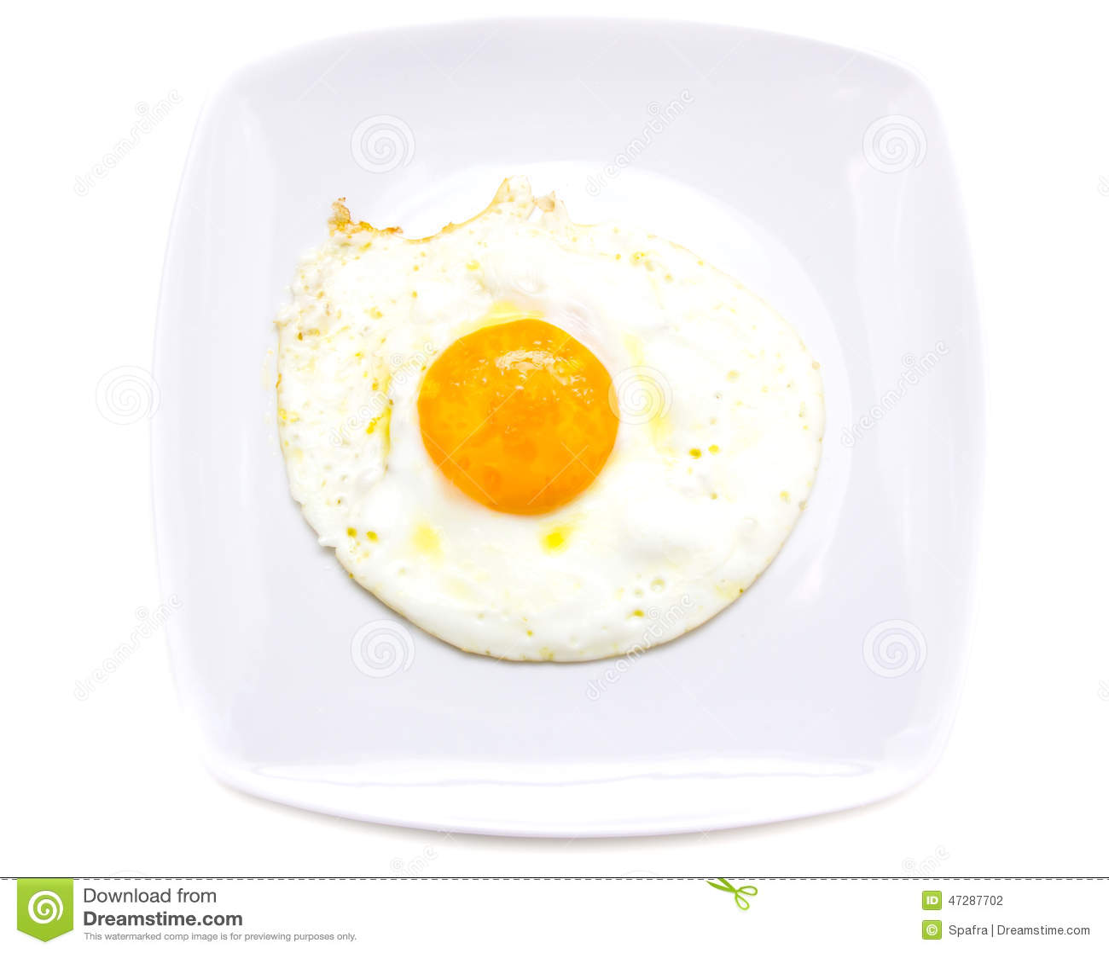 Fried egg on a plate — Stock Photo © Garsya #8237040  |Fried Eggs On A Plate