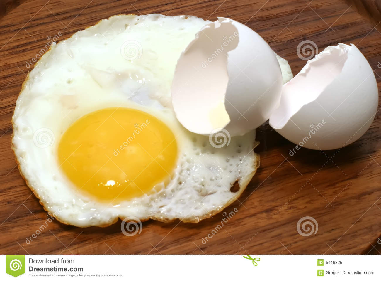 Fried Eggs On Plate Royalty Free Stock Images - Image ...  |Fried Eggs On A Plate