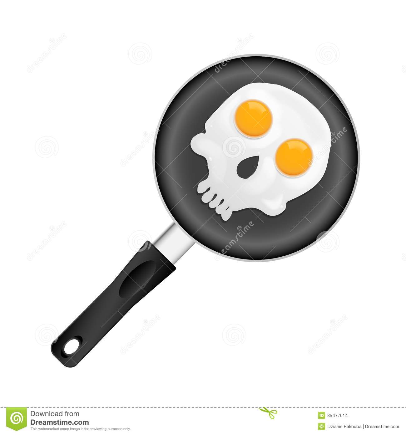 Fried Eggs Stock Images - Image: 35477014