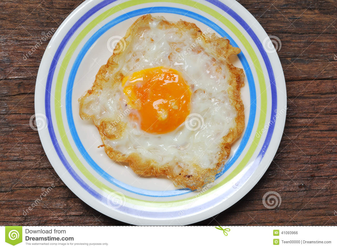 Fried Eggs On White Plate Stock Photo - Download Image Now ...  |Fried Eggs On A Plate