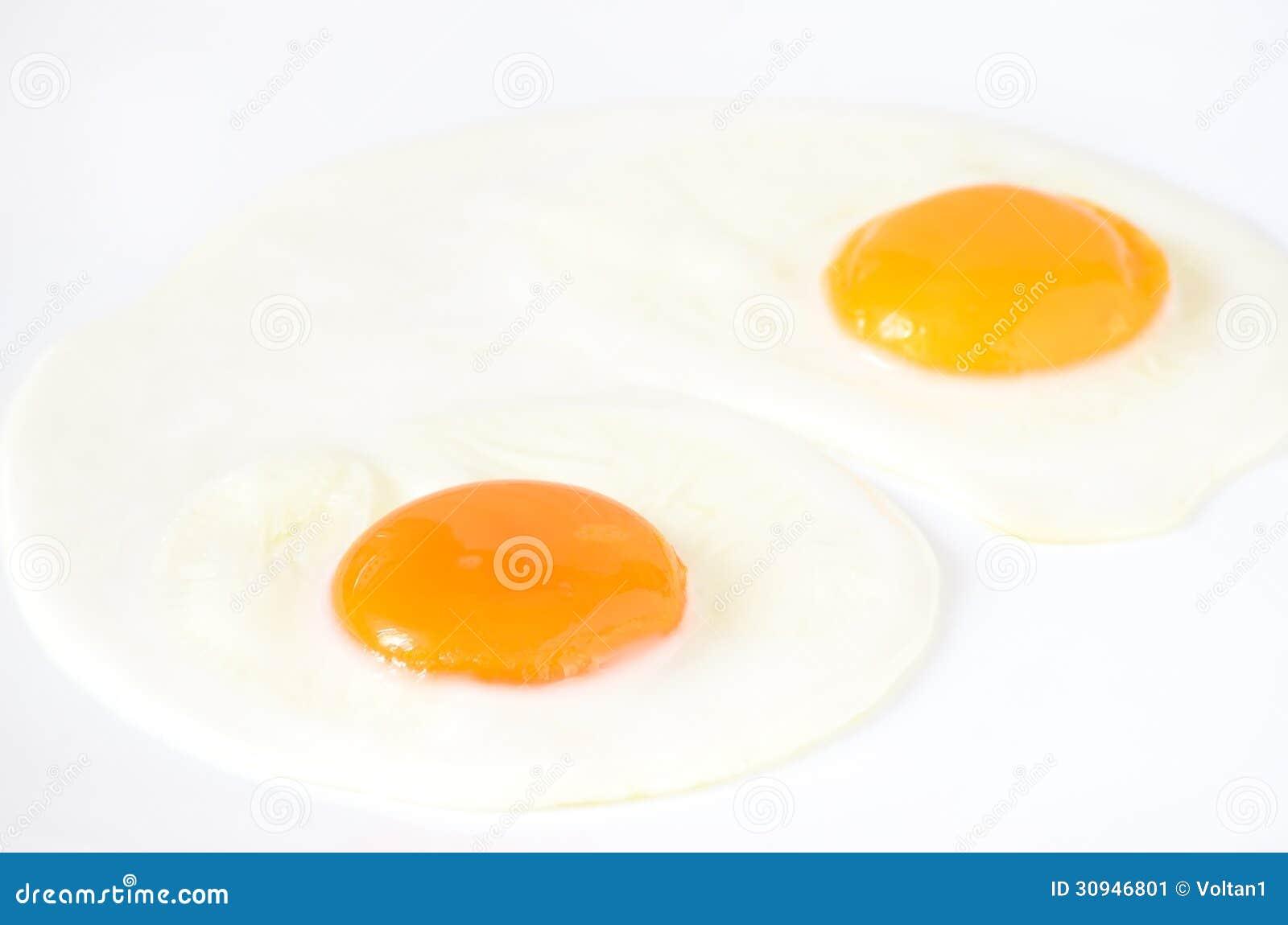 Fried Eggs Stock Image Image 30946801