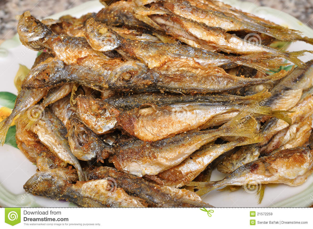 Fried fish stock image image of foods delicious fried for Fried fish calories