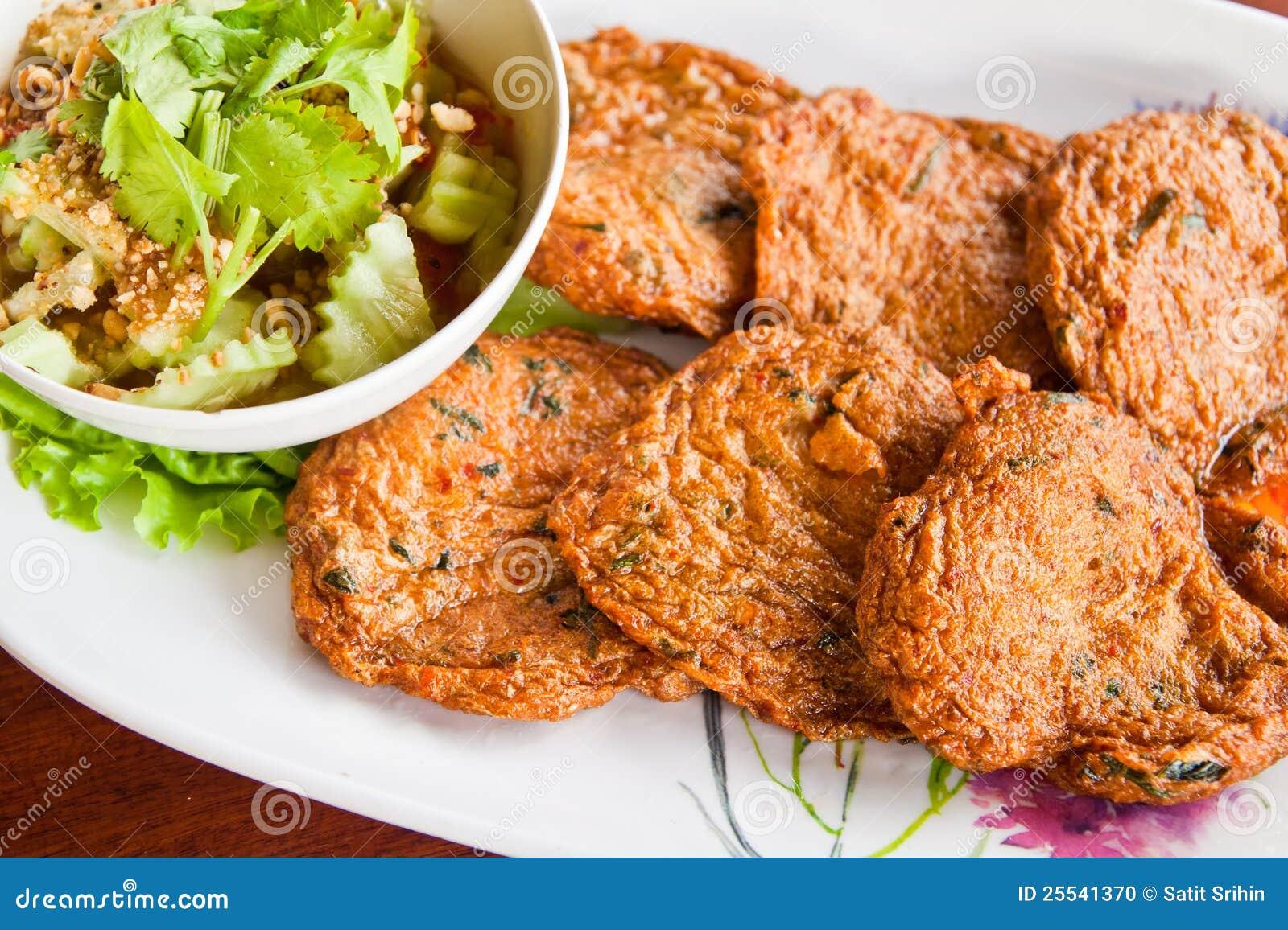 Thai Style Fish Cakes