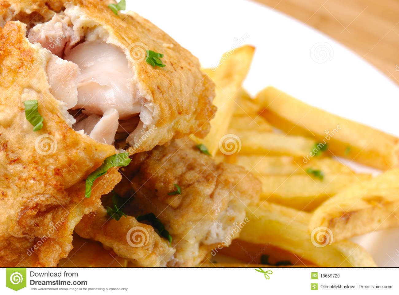 Fried fish and chips stock photo image 18659720 for Wave fish and chips