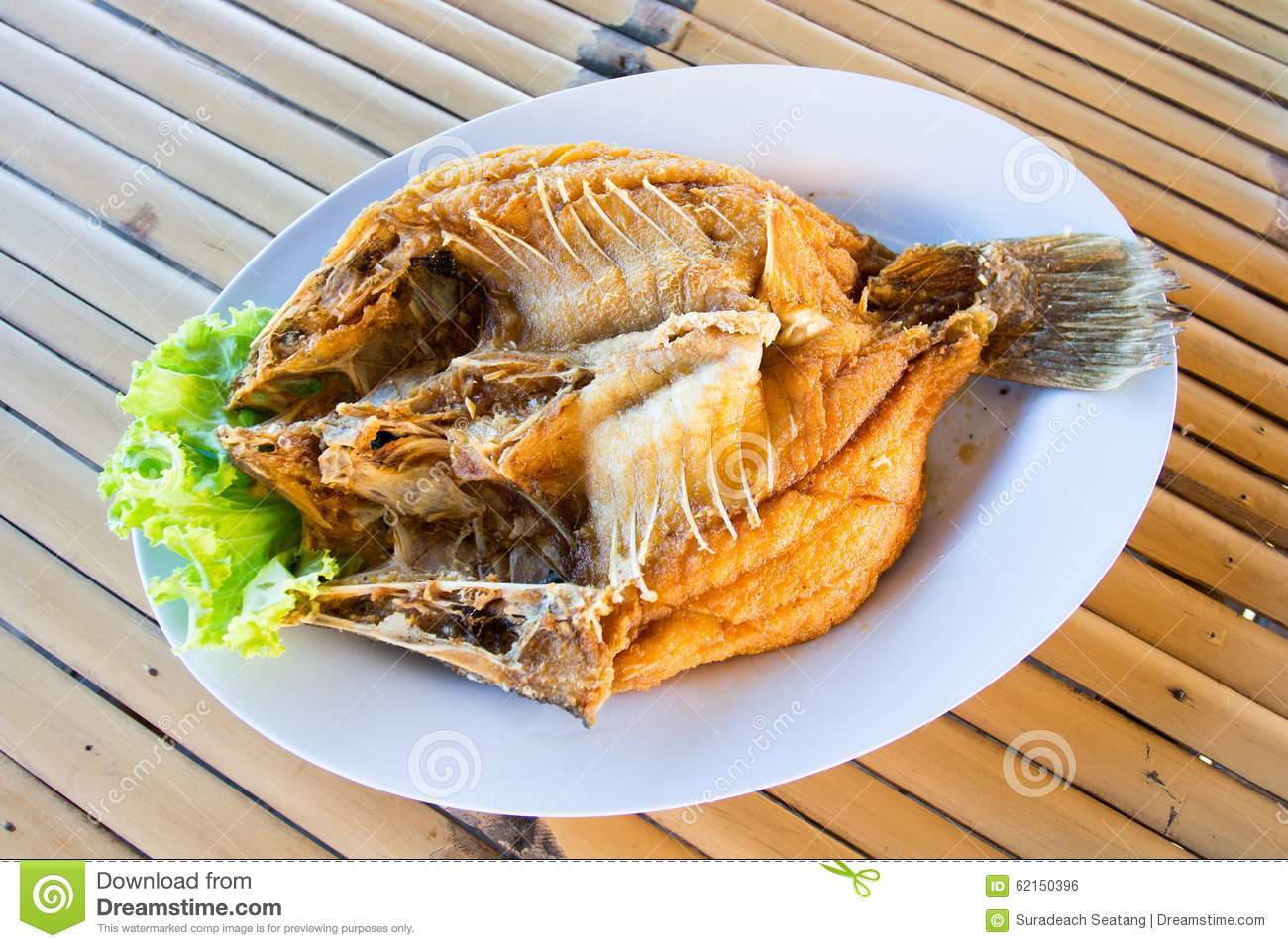 Fried fish stock photo image 62150396 for What to eat with fried fish