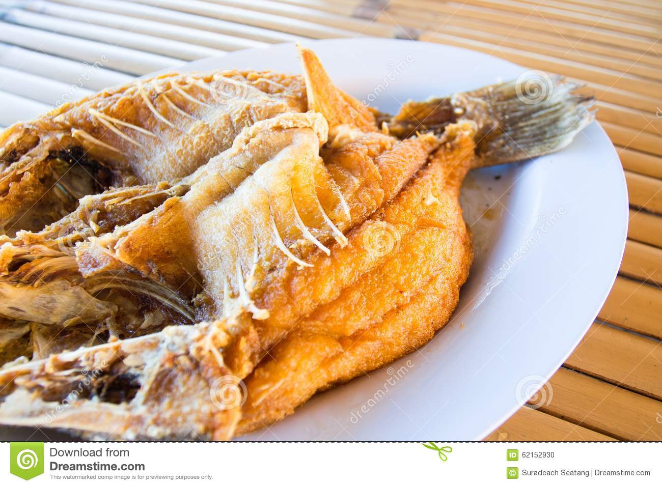 Fried fish stock photo image 62152930 for What to eat with fried fish