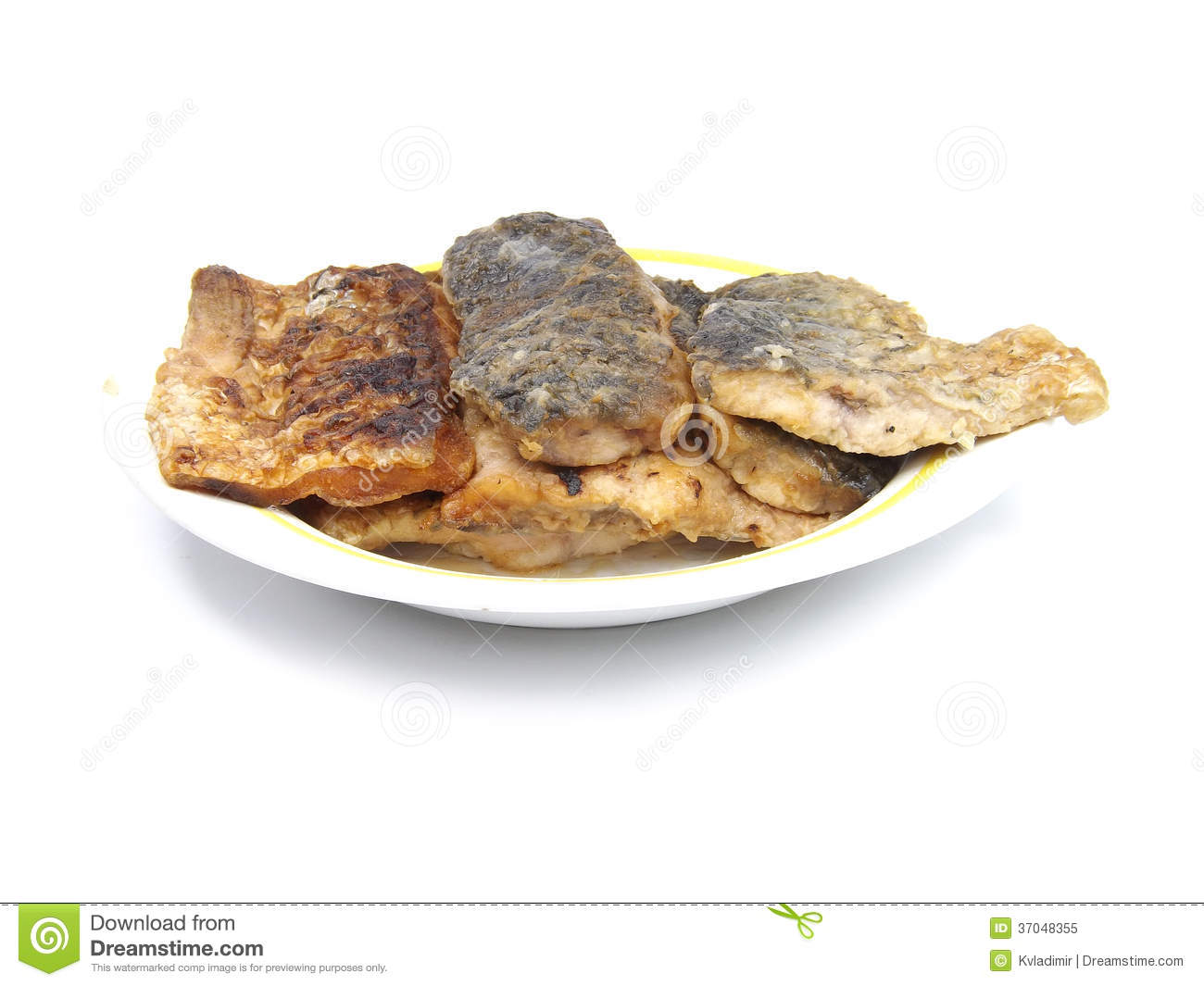 Fried fish royalty free stock photo image 37048355 for What to eat with fried fish