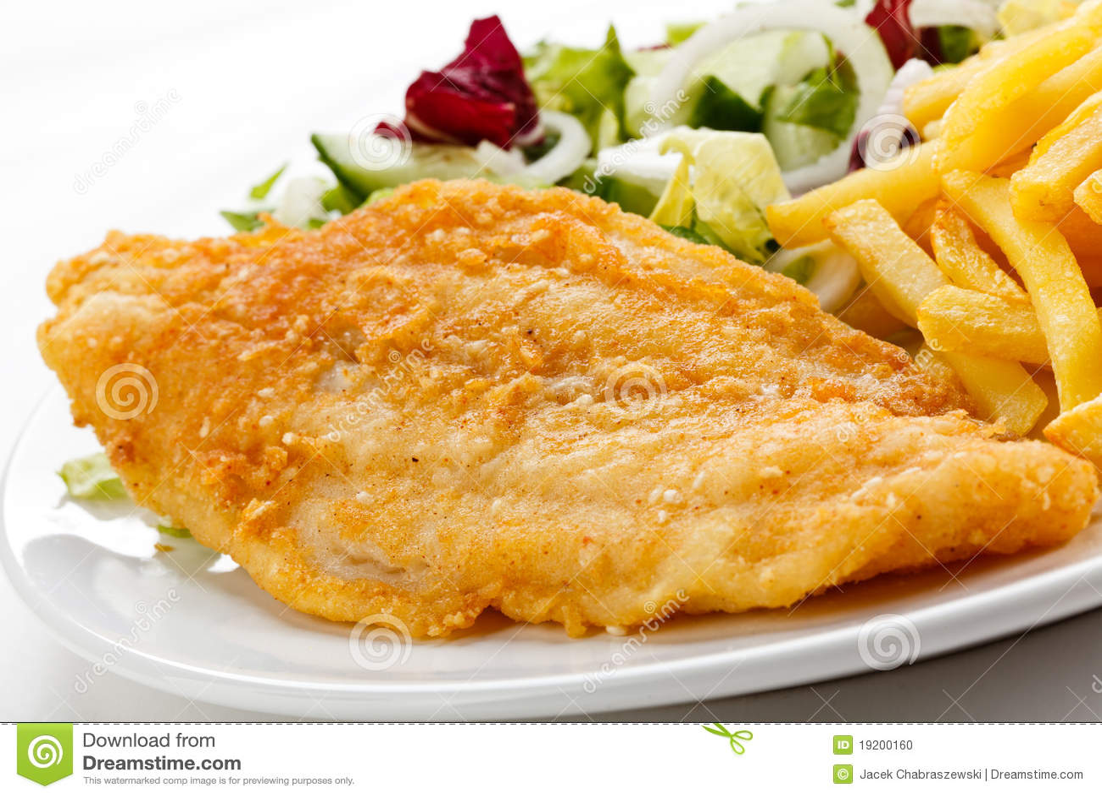 Fried fish fillet stock photo image 19200160 for Fried fish fillet