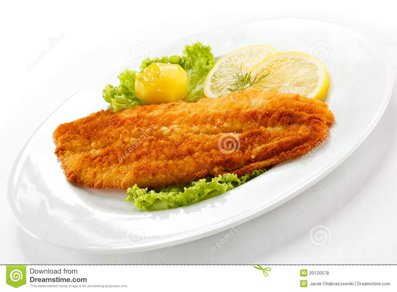 Fried fish fillet royalty free stock photos image 20120578 for Fried fish fillet