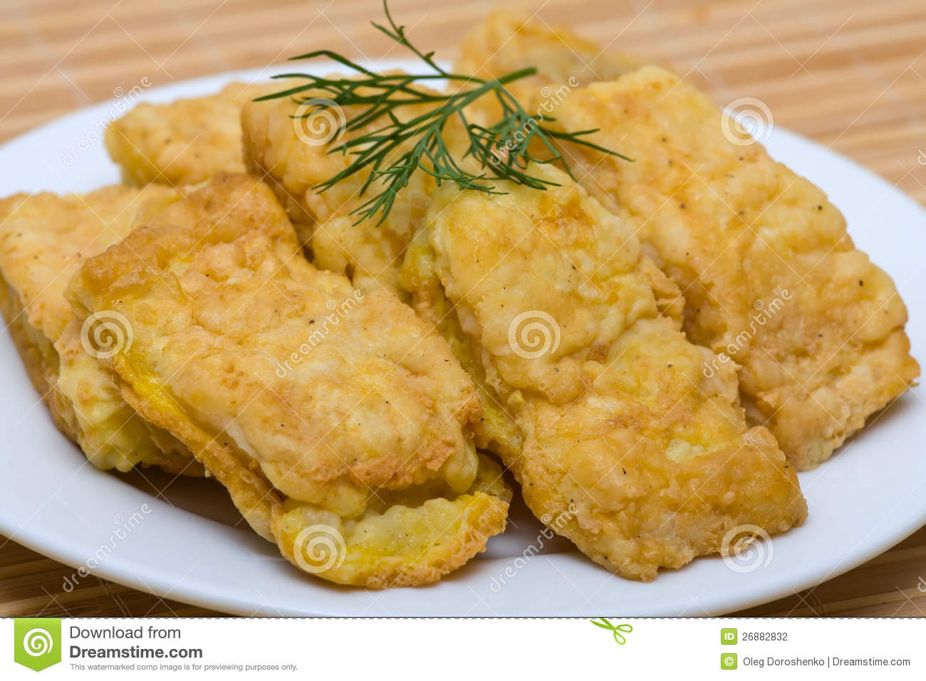 Fried fish fillet stock photography image 26882832 for Fried fish fillet