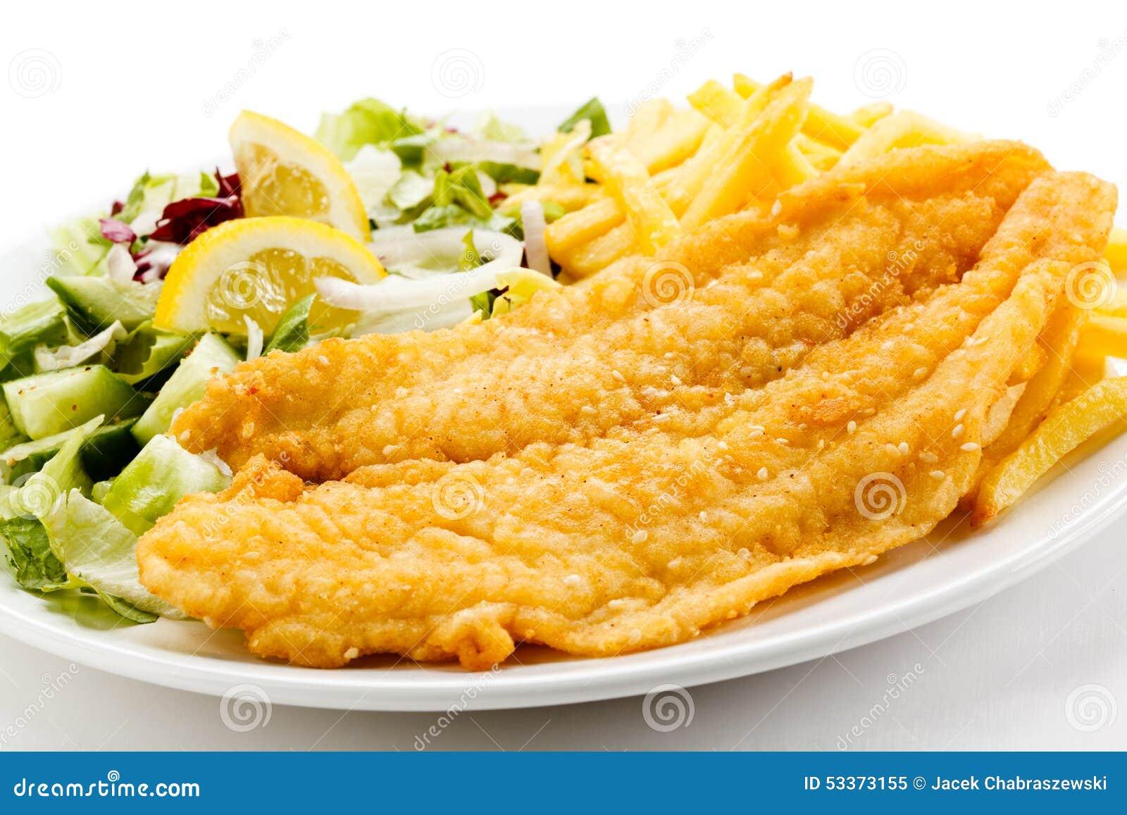 Fried fish fillet stock photo image 53373155 for Fried fish fillet