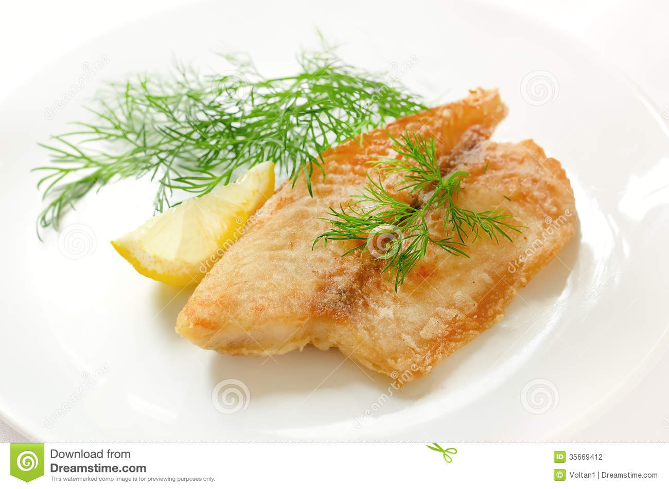 Fried fish fillet stock photography image 35669412 for Fried fish fillet