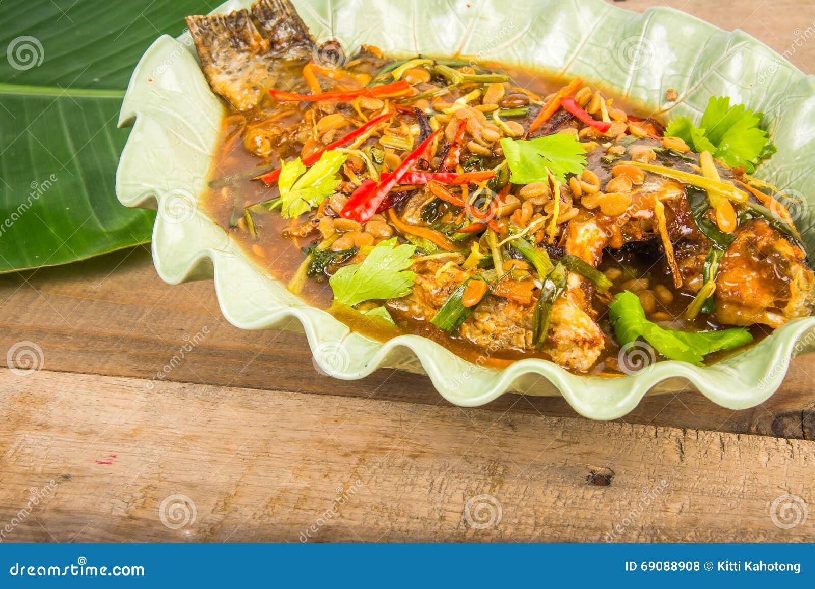 Asian Food Market Fried Fish