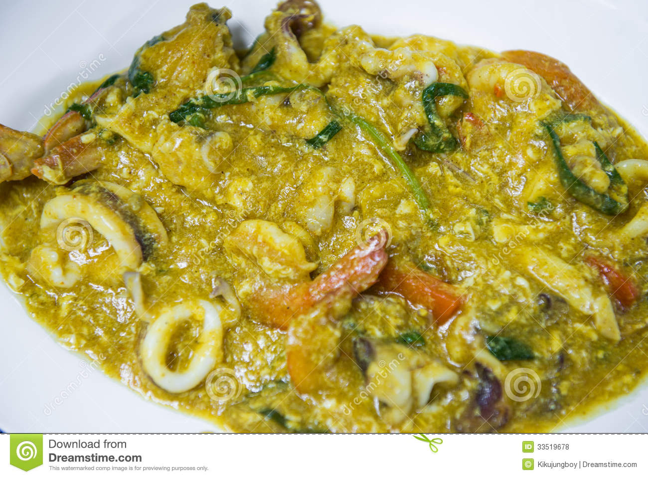 seafood paella seafood ceviche seafood gazpacho mixed seafood curry ...