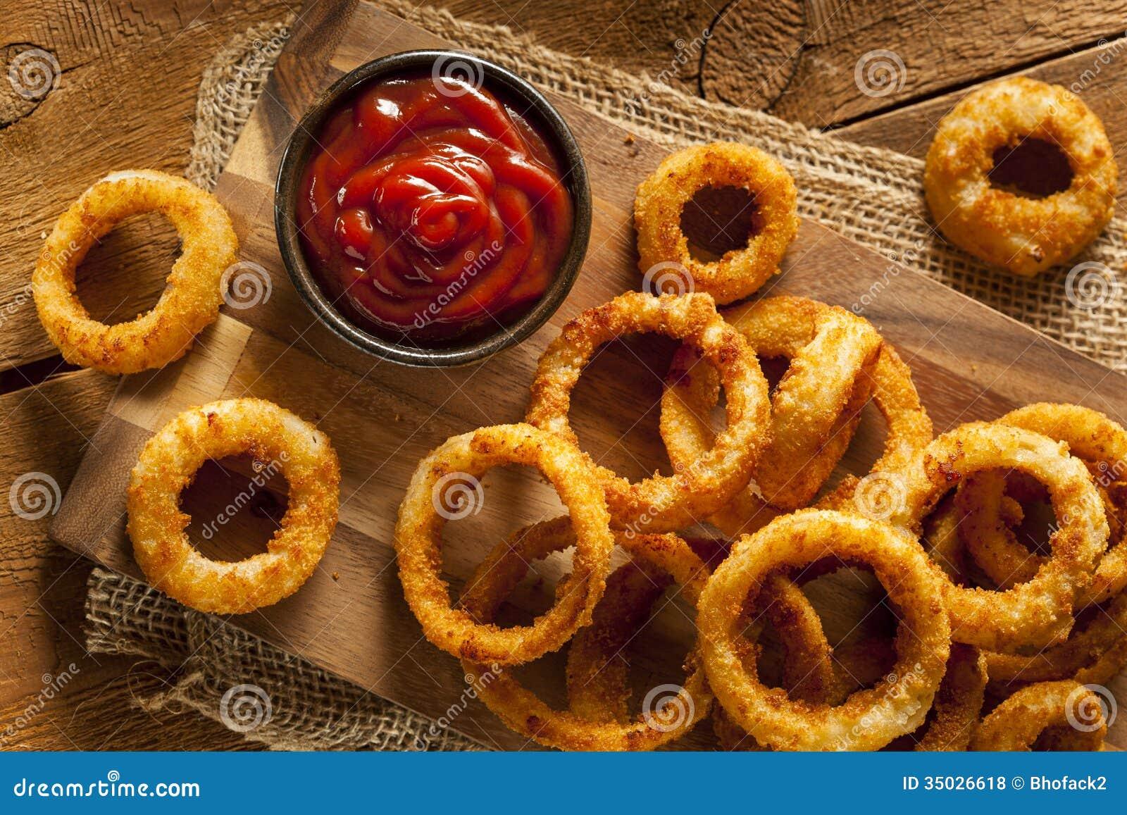 Fried Onion Rings croccante casalingo