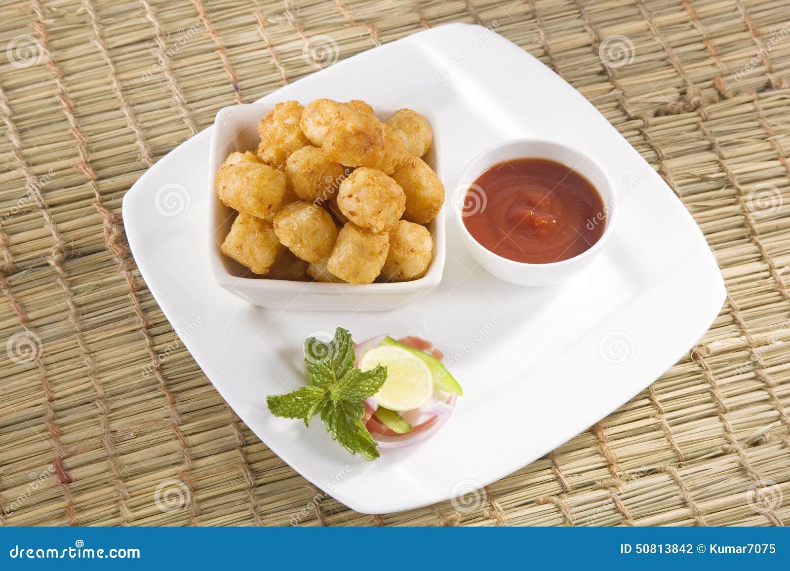 Fried Potato Nuggets