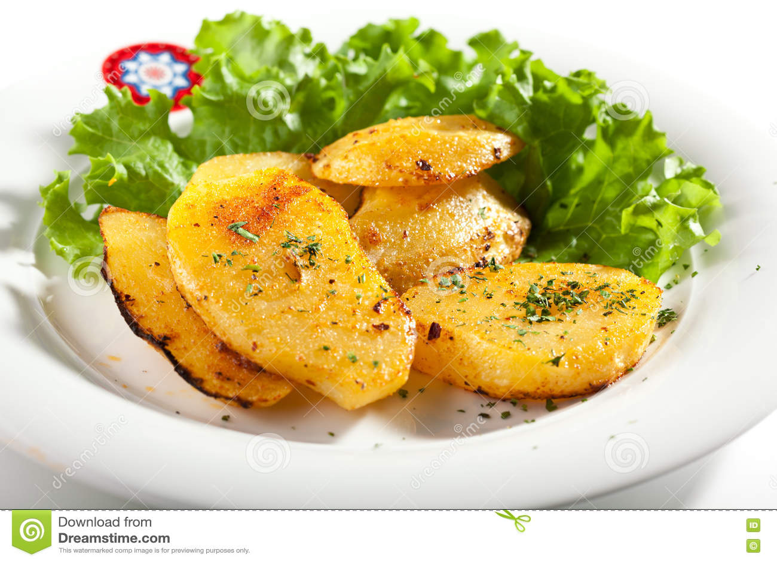 Fried Potato Slice
