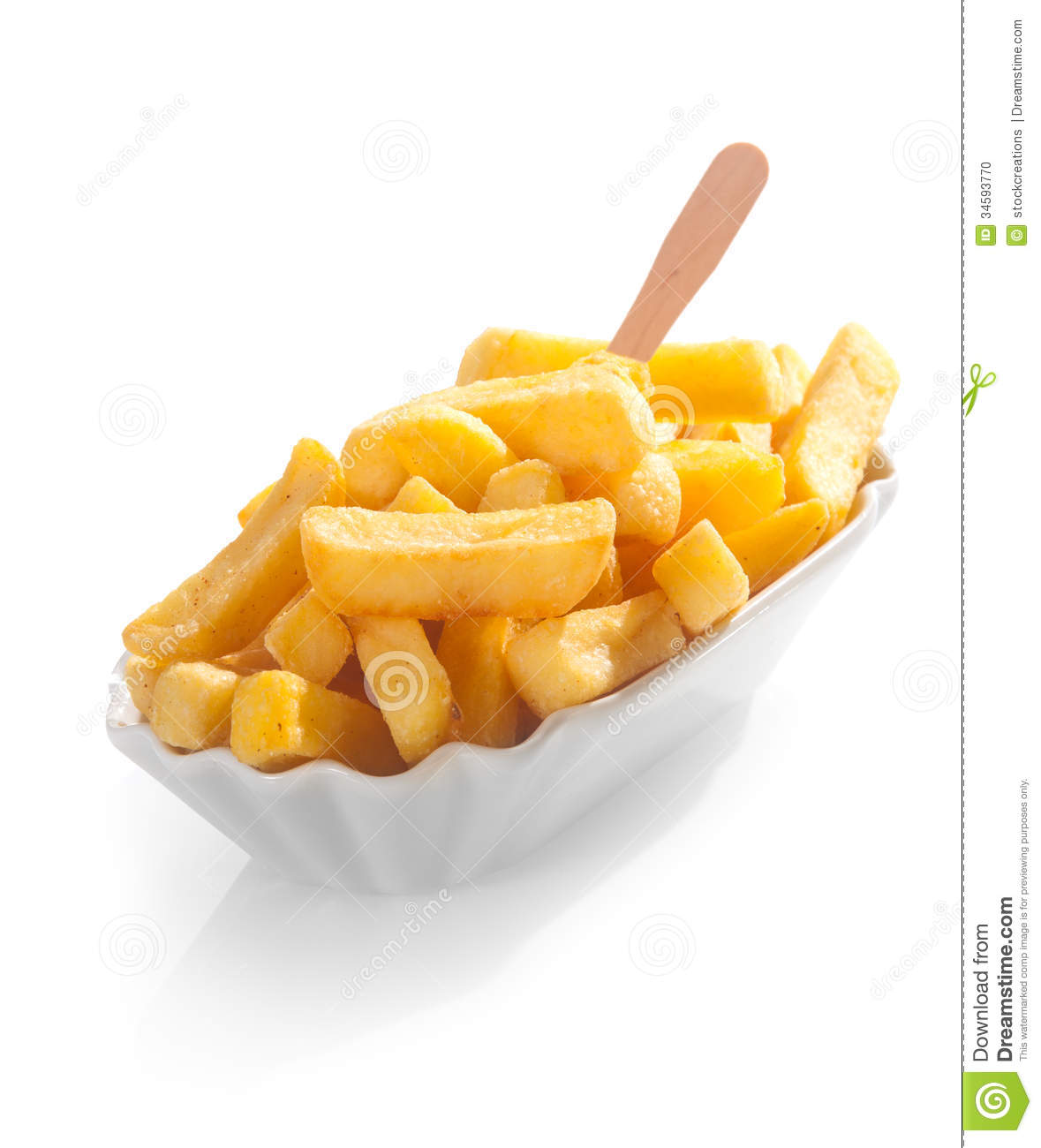 Fried Potato Wedges Or Chips Stock Photo - Image of ... Fried Potato Wedges Calorie