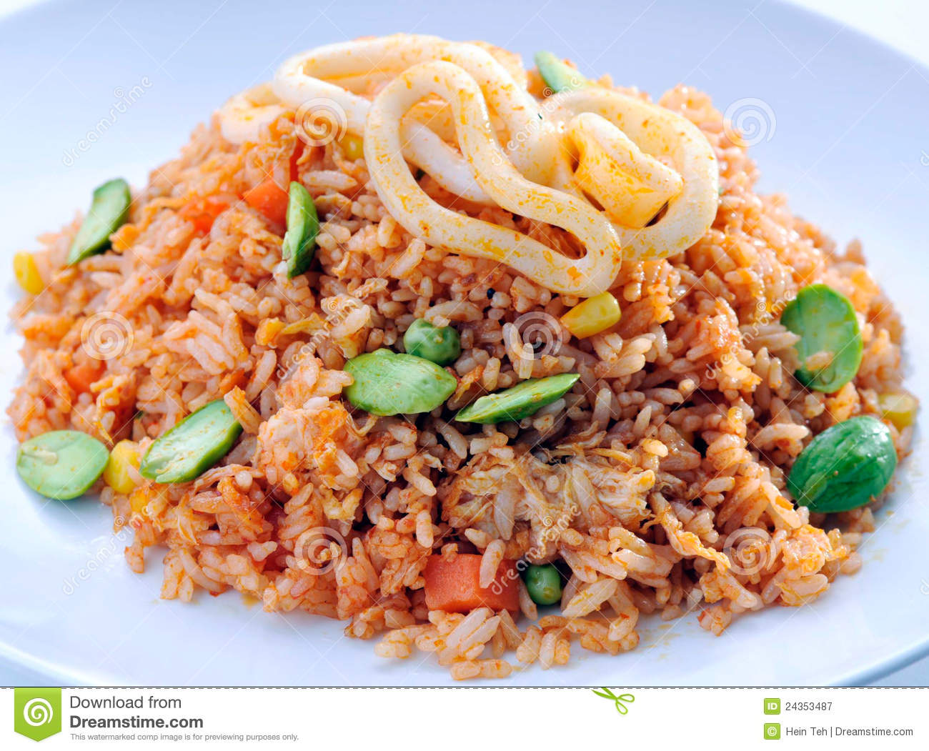 Fried rice asia food royalty free stock photography for Asia oriental cuisine