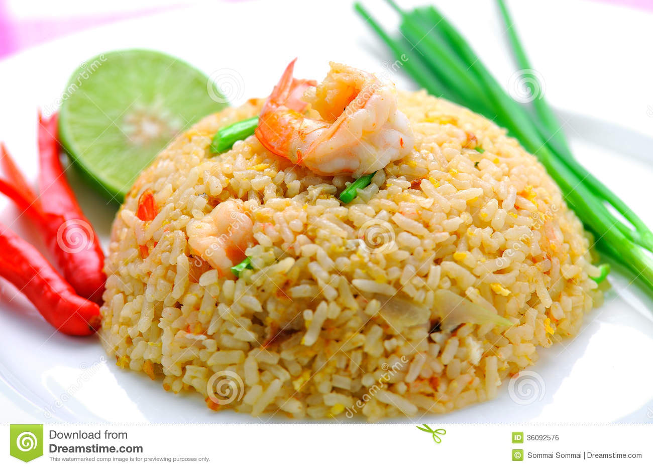 Fried rice with shrimp stock photo image of food seafood 36092576 download comp ccuart Images