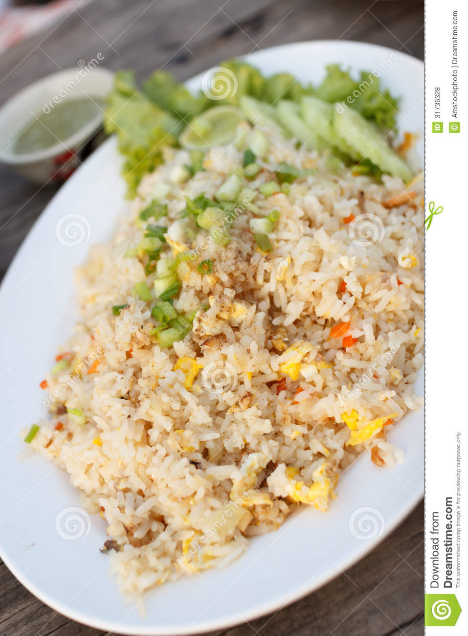 Fried Rice,thai Style Royalty Free Stock Photos - Image ...
