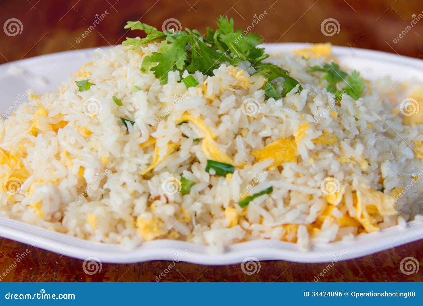 Fried Rice Royalty Free Stock Image - Image: 34424096