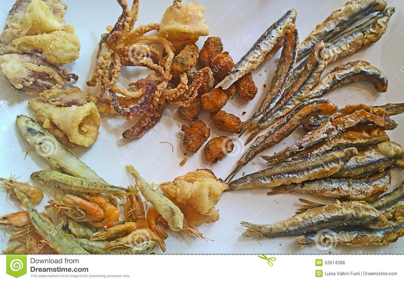 Fried Seafood Delicacy