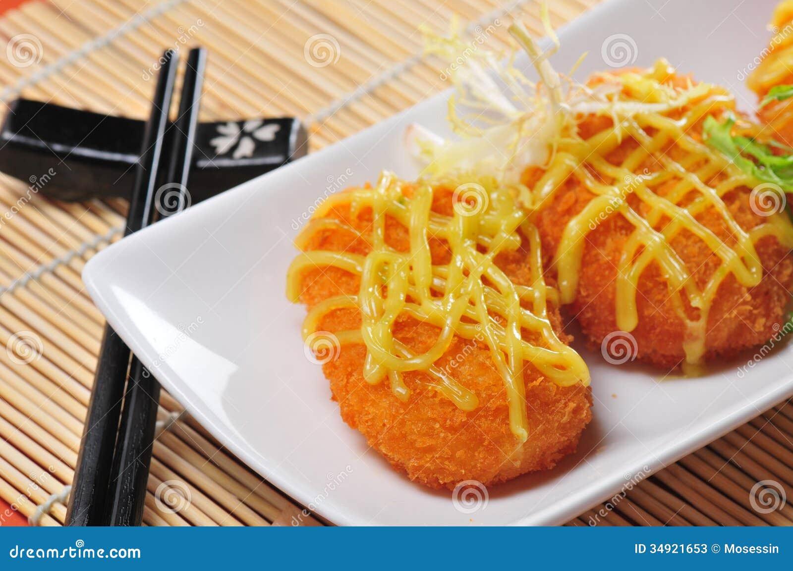 Fried Shrimp Cake Stock Photos - Image: 34921653