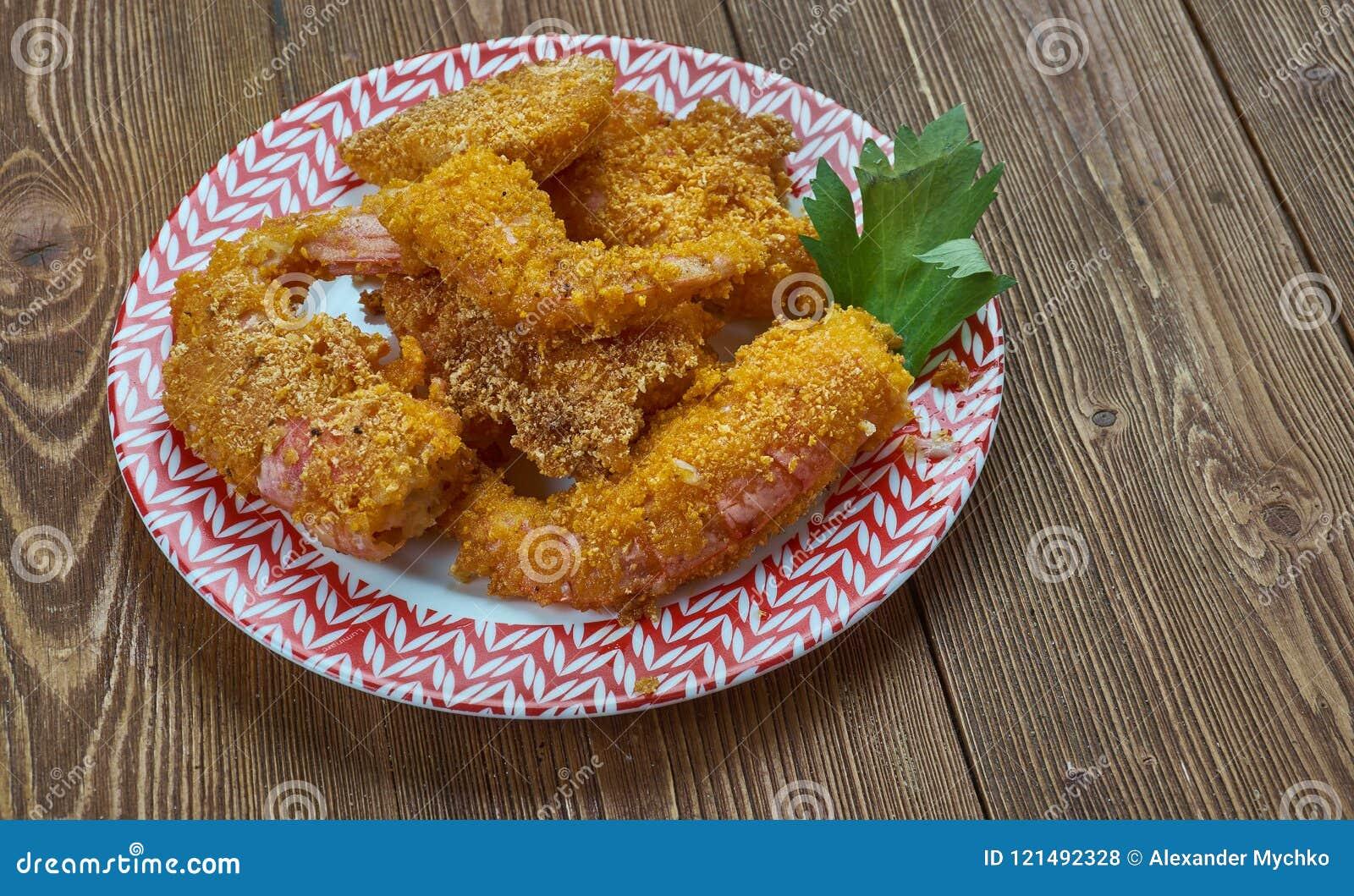 Fried Shrimp créole