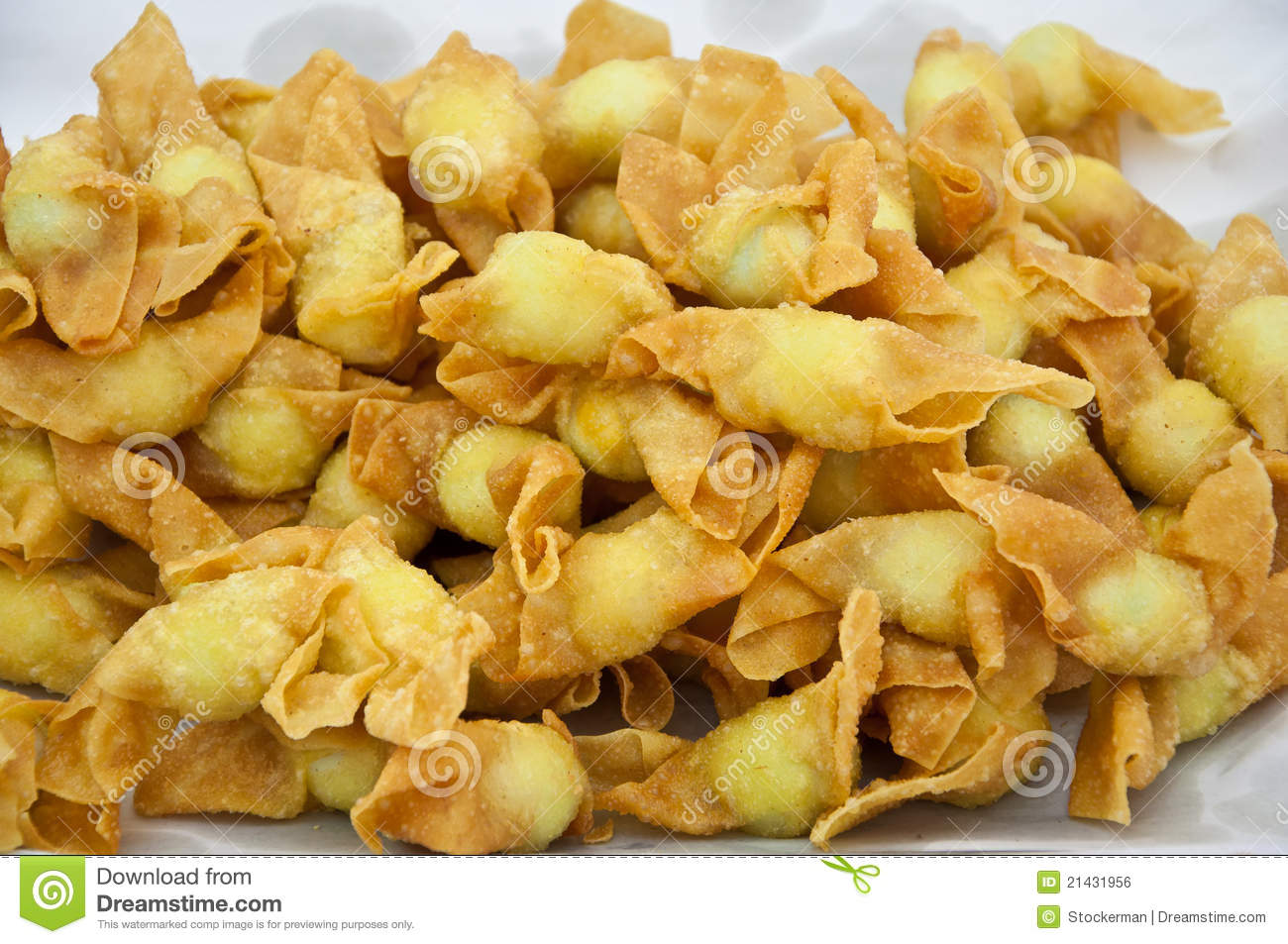 Fried Spring Rolls Royalty Free Stock Image - Image: 21431956