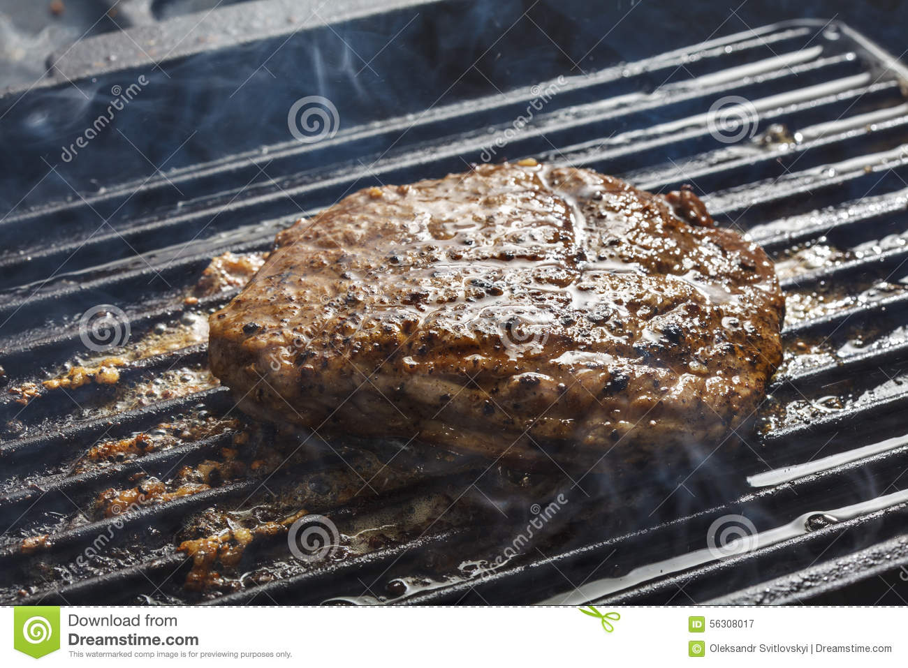 how to cook steak on grill pan
