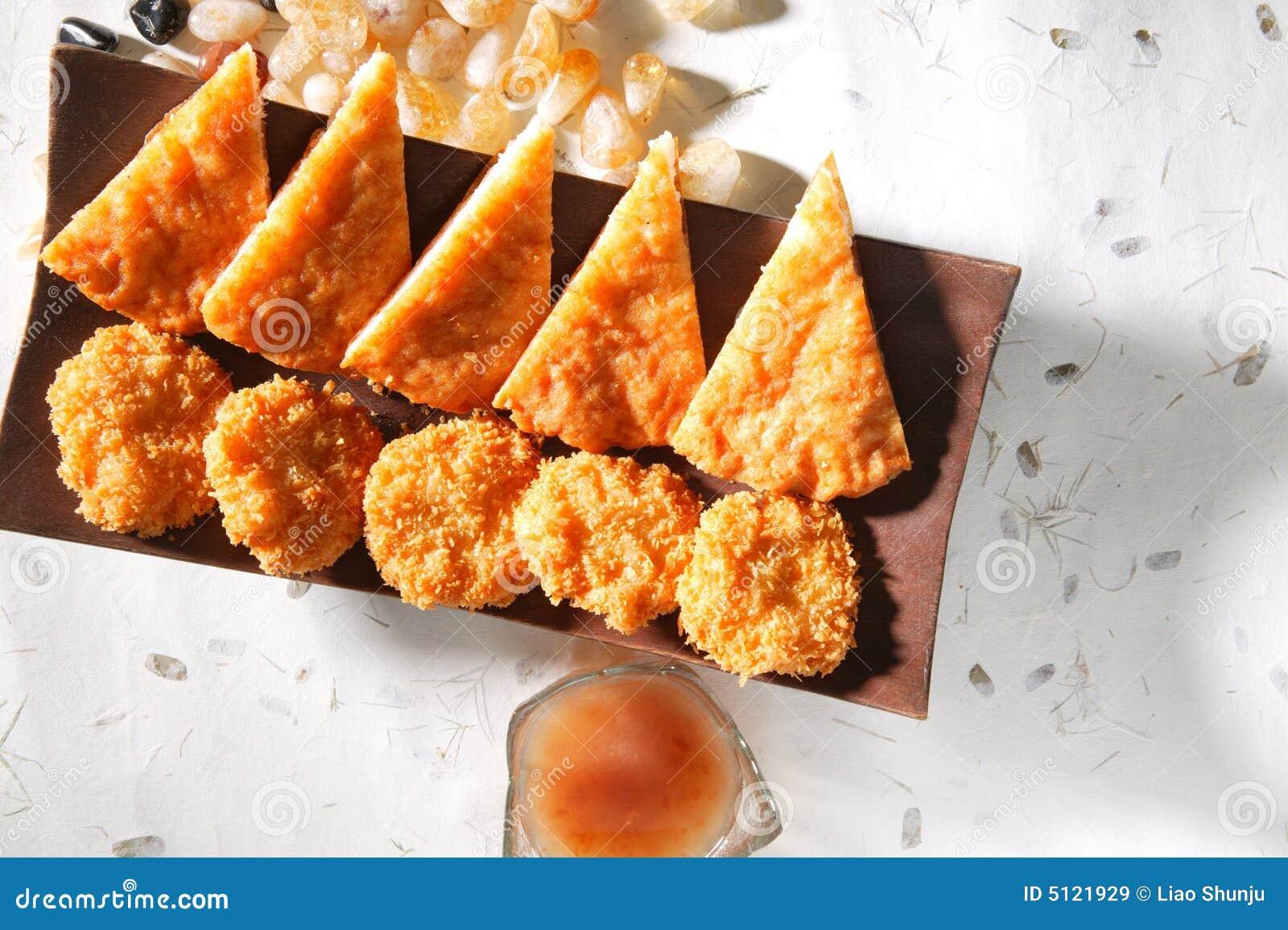 Fried Thai Shrimp Cake Royalty Free Stock Images - Image: 5121929