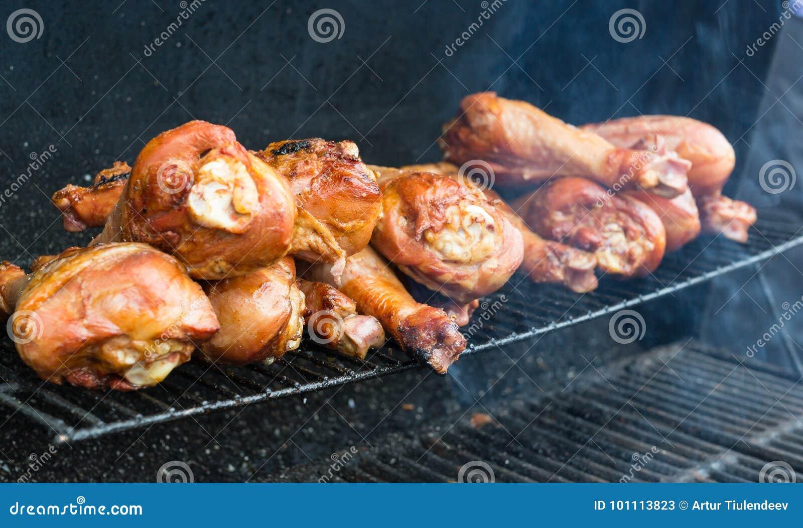 Fried Turkey på gallret