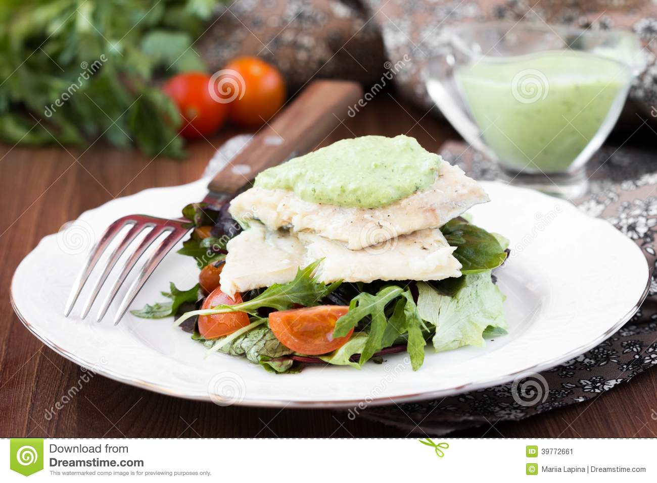 how to make white sauce for fish fillet