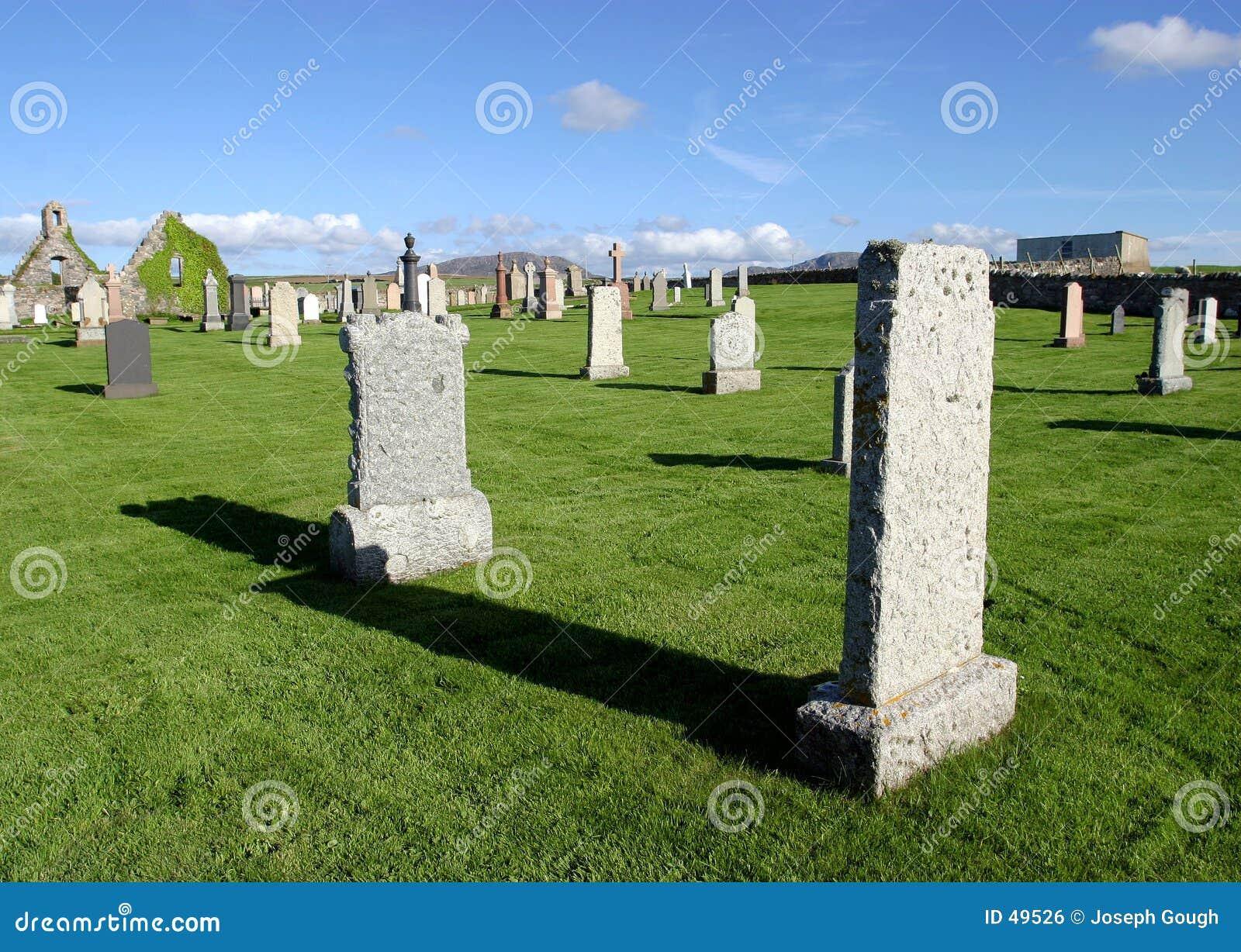 Friedhof, Schottland