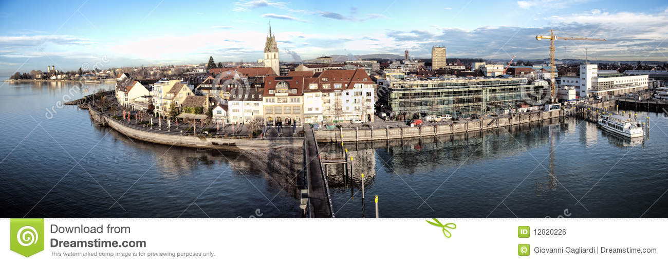Friedrichshafen Germany  City pictures : Friedrichshafen, Germany Royalty Free Stock Image Image: 12820226