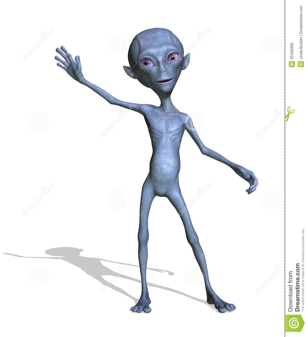 3d animation alien - 4 4