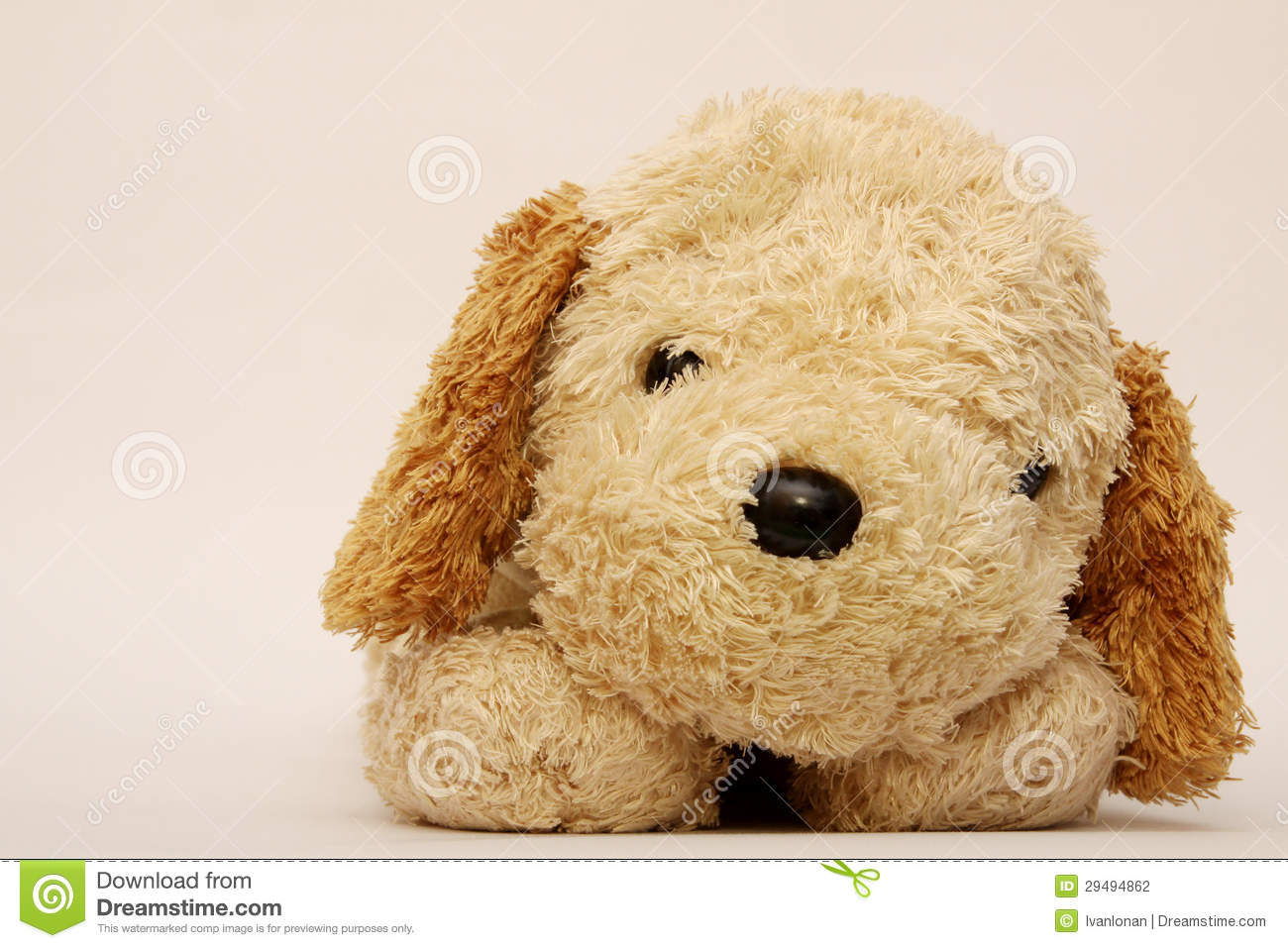 Friendly And Cheerful Dog Doll Stock Photo - Image: 29494862