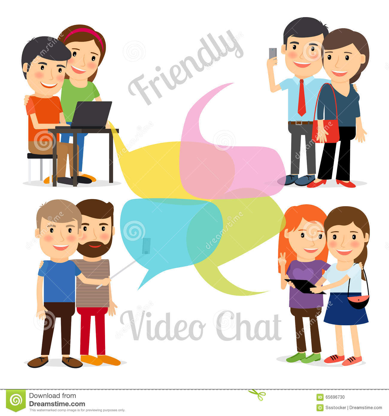 meet people online video
