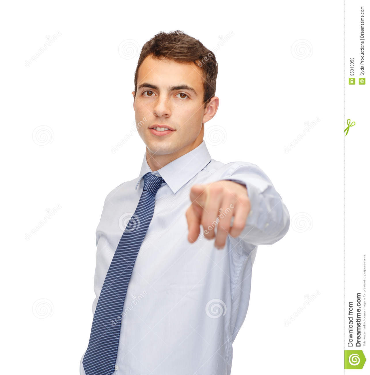 Pointing At Someone